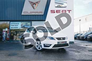 SEAT Ibiza 1.2 TSI 90 FR Technology 5dr in White at Listers SEAT Coventry