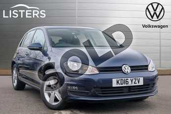 Volkswagen Golf 1.4 TSI 125 Match Edition 5dr DSG in Night Blue at Listers Volkswagen Leamington Spa