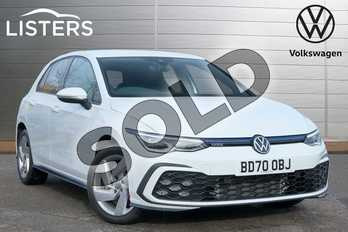 Volkswagen Golf 1.4 TSI GTE 5dr DSG in Pure White at Listers Volkswagen Leamington Spa