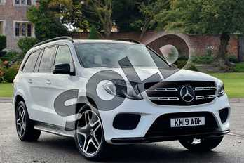 Mercedes-Benz GLS GLS 350d 4Matic Grand Edition 5dr 9G-Tronic in designo Diamond white metallic at Mercedes-Benz of Lincoln