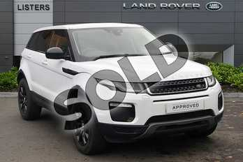 Range Rover Evoque 2.0 TD4 (180hp) SE Tech in Yulong White at Listers Land Rover Droitwich