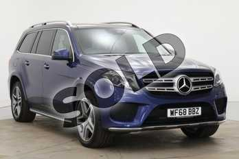 Mercedes-Benz GLS GLS 350d 4Matic AMG Line 5dr 9G-Tronic in brilliant blue metallic at Mercedes-Benz of Boston
