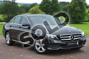 Mercedes-Benz E Class E220d 4Matic SE 4dr 9G-Tronic in Obsidian Black Metallic at Mercedes-Benz of Grimsby