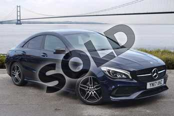 Mercedes-Benz CLA CLA 180 AMG Line 4dr Tip Auto in cavansite blue metallic at Mercedes-Benz of Hull