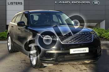 Range Rover Velar 3.0 D300 SE 5dr Auto in Santorini Black at Listers Land Rover Droitwich
