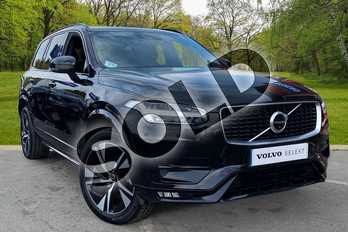 Volvo XC90 2.0 B5D (235) R DESIGN 5dr AWD Geartronic in Onyx Black at Listers Volvo Worcester