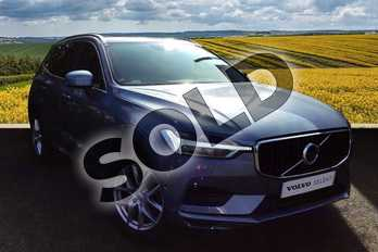 Volvo XC60 2.0 D4 Momentum 5dr AWD Geartronic in 721 Mussel Blue at Listers Volvo Worcester