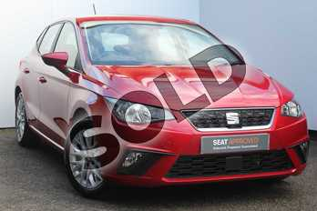 SEAT Ibiza 1.0 SE Technology (EZ) 5dr in Red at Listers SEAT Worcester