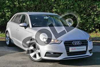 Audi A3 1.4 TFSI Sport 5dr in Ice Silver, metallic at Worcester Audi