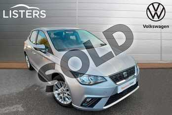 SEAT Ibiza 1.0 TSI 95 SE Technology (EZ) 5dr in Urban Silver at Listers Volkswagen Worcester
