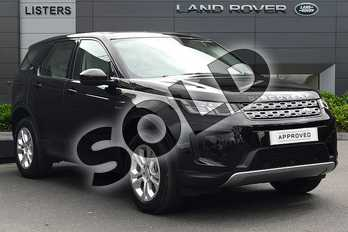 Land Rover Discovery Sport D150 S Diesel MHEV in Santorini Black at Listers Land Rover Droitwich
