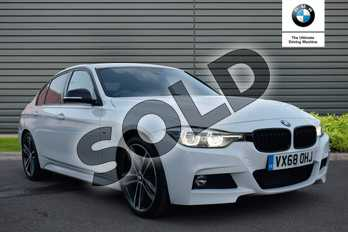 BMW 3 Series 320d M Sport Shadow Edition 4dr Step Auto in Solid - Alpine white at Lexus Lincoln