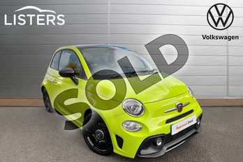 Abarth 595 1.4 T-Jet 160 Trofeo 3dr in Adrenaline Green at Listers Volkswagen Worcester