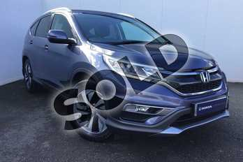 Honda CR-V 1.6 i-DTEC SR 5dr 2WD in Twilight Blue at Listers Honda Solihull