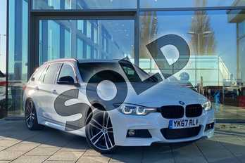 BMW 3 Series 320d M Sport Shadow Edition 5dr in Alpine White at Listers King's Lynn (BMW)