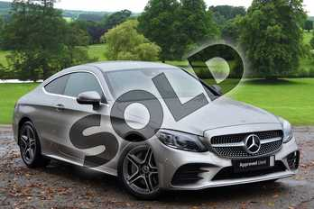 Mercedes-Benz C Class C300 AMG Line Premium 2dr 9G-Tronic in Mojave Silver Metallic at Mercedes-Benz of Grimsby