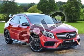 Mercedes-Benz GLA GLA 45 4Matic Premium 5dr Auto in Jupiter Red at Mercedes-Benz of Grimsby