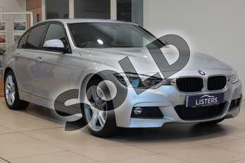 BMW 3 Series 320d xDrive M Sport 4dr Step Auto in Metallic - Glacier Silver at Listers U Northampton