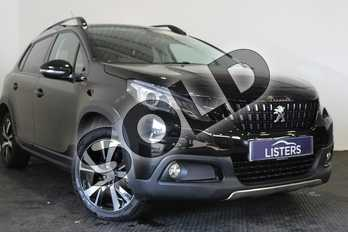 Peugeot 2008 1.2 PureTech 130 GT Line 5dr in Metallic - Nera black at Listers U Stratford-upon-Avon