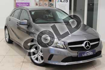 Mercedes-Benz A Class A180 Sport 5dr in Metallic - Mountain grey at Listers U Northampton