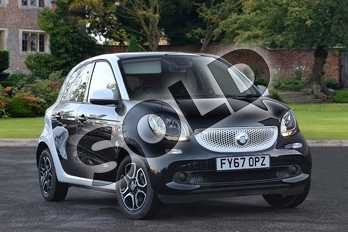 smart Forfour 0.9 Turbo Prime Premium 5dr Auto in black at smart at Mercedes-Benz of Lincoln