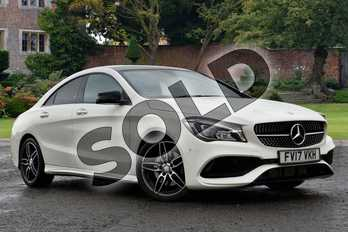 Mercedes-Benz CLA CLA 220d AMG Line 4dr Tip Auto in cirrus white at Mercedes-Benz of Lincoln
