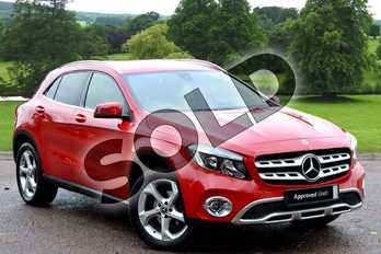 Mercedes-Benz GLA GLA 200d Sport Executive 5dr Auto in Jupiter Red at Mercedes-Benz of Grimsby