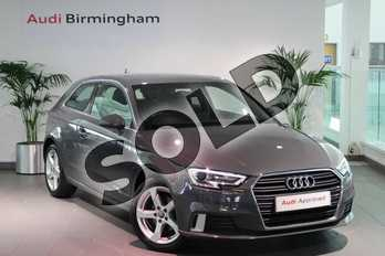 Audi A3 1.4 TFSI Sport 3dr in Nano Grey Metallic at Birmingham Audi