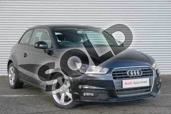 Audi A1 1.4 TFSI Sport 3dr in Brilliant Black at Coventry Audi
