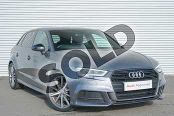 Audi A3 2.0 TDI S Line 5dr in Monsoon Grey Metallic at Coventry Audi