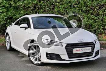 Audi TT 1.8T FSI Sport 2dr in Ibis White at Worcester Audi