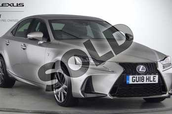 Lexus IS 300h F-Sport 4dr CVT Auto in Silver at Lexus Lincoln