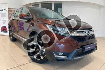 Honda CR-V 1.5 VTEC Turbo SE 5dr CVT in Agate Brown at Listers Honda Northampton