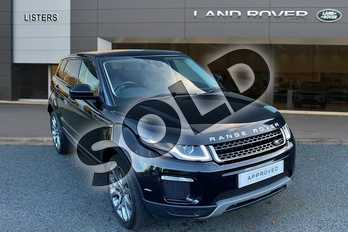 Range Rover Evoque 2.0 TD4 (180hp) SE Tech in Santorini Black at Listers Land Rover Hereford