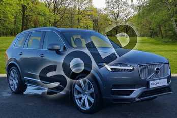 Volvo XC90 2.0 T8 Hybrid Inscription Pro 5dr Geartronic in Osmium Grey at Listers Volvo Worcester