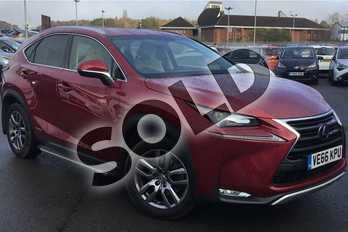 Lexus NX 300h 2.5 Luxury 5dr CVT in Mesa Red at Lexus Lincoln