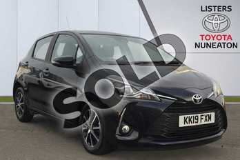 Toyota Yaris 1.5 VVT-i Icon Tech 5dr in Black at Listers Toyota Nuneaton