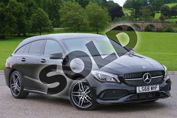Mercedes-Benz CLA CLA 220d AMG Line 4Matic 5dr Tip Auto in Cosmos black metallic at Mercedes-Benz of Boston