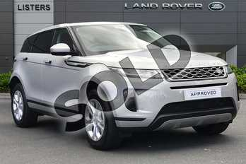 Range Rover Evoque D150 S Diesel MHEV in Seoul Pearl Silver at Listers Land Rover Droitwich