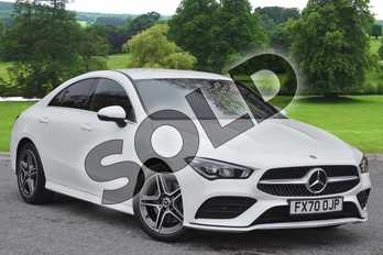 Mercedes-Benz CLA CLA 220d AMG Line 4dr Tip Auto in Polar White at Mercedes-Benz of Grimsby