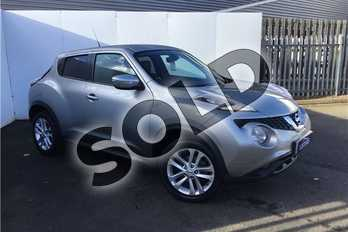 Nissan Juke 1.2 DiG-T N-Connecta 5dr in Metallic - Blade Silver at Listers U Solihull
