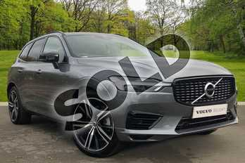 Volvo XC60 2.0 T6 Recharge PHEV R DESIGN 5dr AWD Auto in Osmium Grey at Listers Volvo Worcester