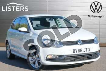Volkswagen Polo 1.2 TSI Match 5dr in Pure White at Listers Volkswagen Leamington Spa