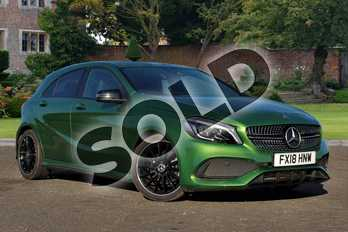 Mercedes-Benz A Class A200 AMG Line Premium 5dr Auto in Elbaite green at Mercedes-Benz of Lincoln