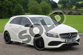 Mercedes-Benz A Class A200d AMG Line 5dr Auto in Cirrus White at Mercedes-Benz of Boston