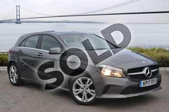 Mercedes-Benz A Class A180d Sport 5dr in Mountain Grey at Mercedes-Benz of Hull