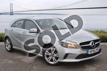 Mercedes-Benz A Class A180d Sport Executive 5dr in Polar Silver at Mercedes-Benz of Hull