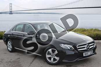 Mercedes-Benz E Class E220d SE 4dr 9G-Tronic in Obsidian Black Metallic at Mercedes-Benz of Hull