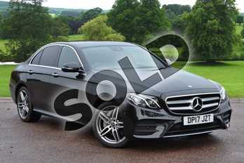 Mercedes-Benz E Class E220d 4Matic AMG Line Premium 4dr 9G-Tronic in Obsidian Black Metallic at Mercedes-Benz of Grimsby