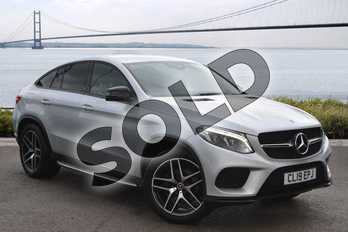 Mercedes-Benz GLE Coupe GLE 350d 4Matic AMG Night Edition 5dr 9G-Tronic in Iridium Silver Metallic at Mercedes-Benz of Hull